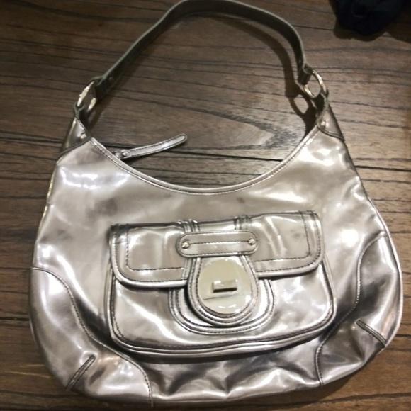 Handbags - Metallic silver